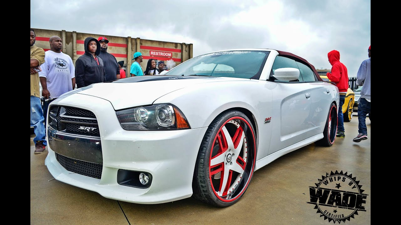 Www Whipsbywade Com Convertible Srt8 Dodge Charger On 24