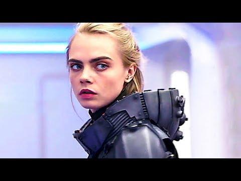 VALERIAN : le nouveau blockbuster de LUC BESSON (2017) Cara Delevingne, Rihanna, SF