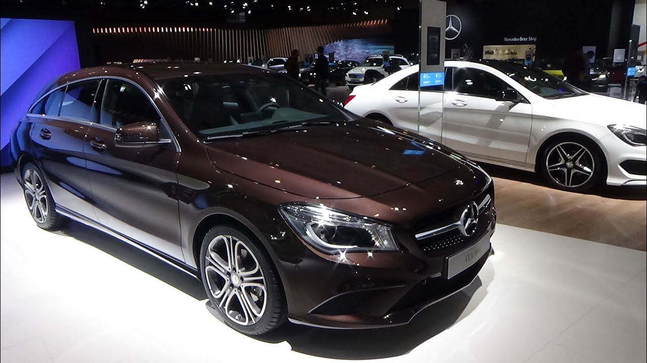 2016 mercedes benz cla 180d exterior and interior auto show brussels 2016 youtube. Black Bedroom Furniture Sets. Home Design Ideas