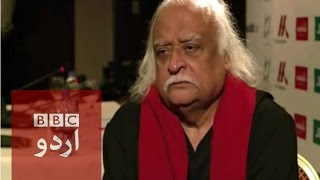 Anwar Maqsood Interview.BBC Urdu