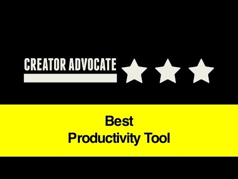 Entrepreneur Advice: Best Productivity Tool?