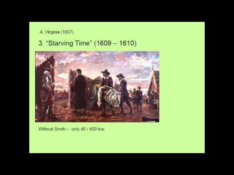 Establishing the Southern Colonies