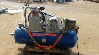 Rautavalmiste Oy kompressori 8bar - 7,5kW www.laitetori.com