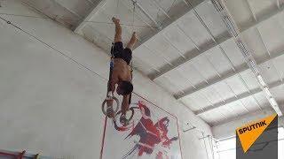 Бишкекчанин Роман Пак в 17 лет показывает высший пилотаж в гимнастике