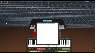 "The Maple Leaf Rag - Classical Ragtime de: Scott Joplin sur un piano ROBLOX. [""Facile""""]"