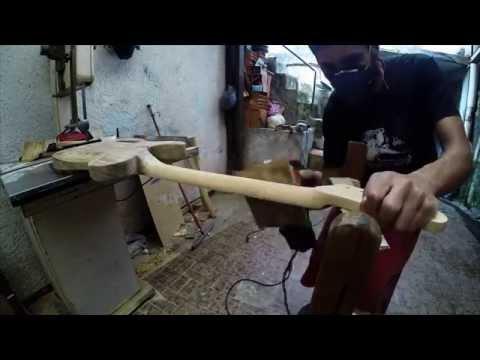 Construindo uma guitarra em casa Parte 04