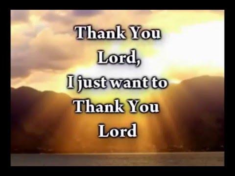 Thank You Lord   Don Moen   Worship Video lyrics