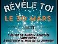 Révèle toi - Concert le 30 Mars à 18h30