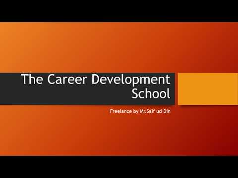 The Career Development School