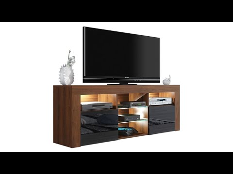 """Milano 145 TV Stand Assembly (Wayfair: Ranallo TV Stand for TVs up to 65"""")"""