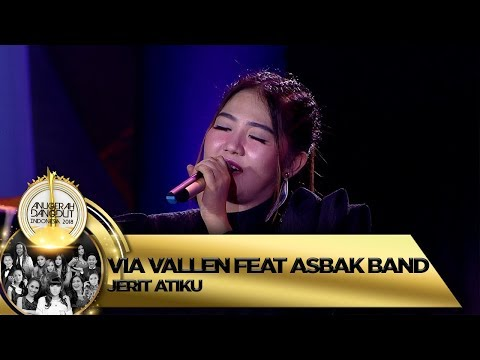 Pertama Kali, Via Vallen feat Asbak Band [JERIT ATIKU] - Anugerah Dangdut Indonesia 2018 (16/11)