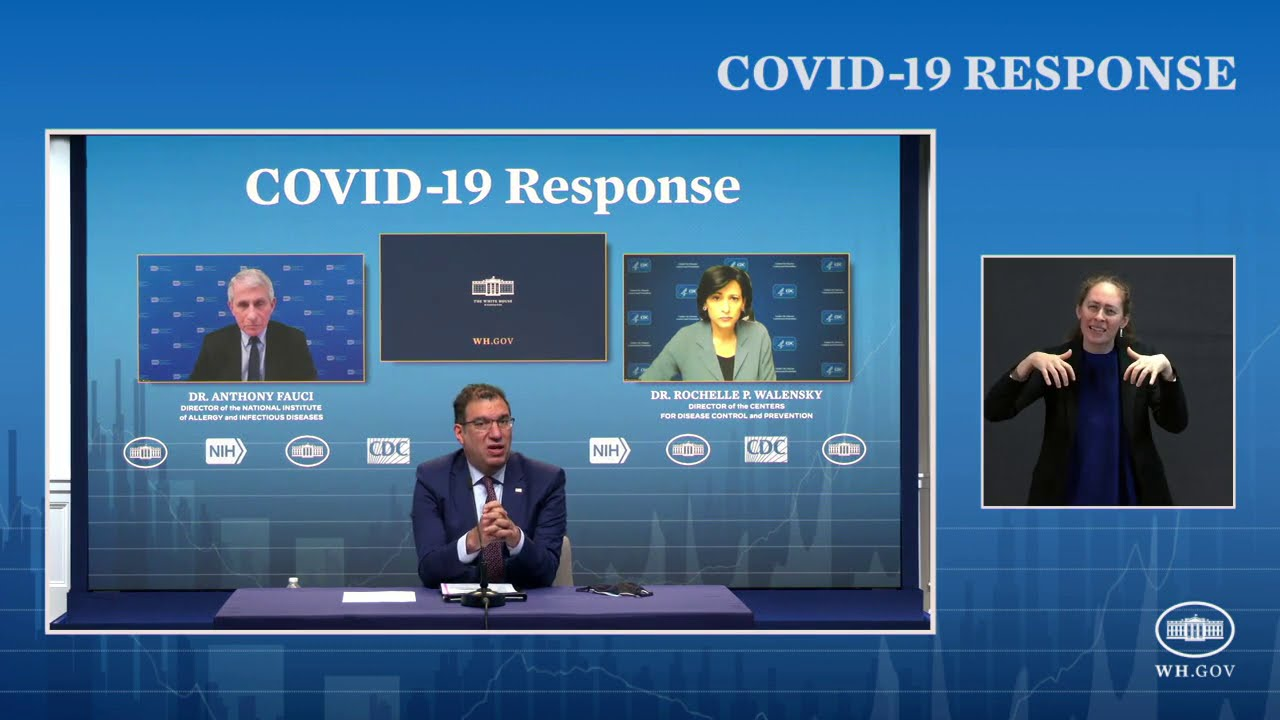2/19/21 COVID19 Press briefing by the White House