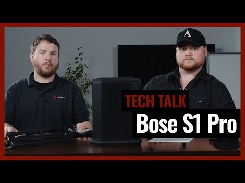Bose S1 Pro Multi-Position PA Bluetooth System Review On Episode 6 Of Pro Acoustics Tech Talk