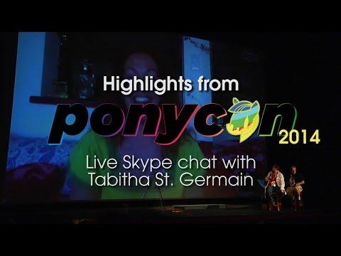 Tabitha St Germain at Ponycon 2014