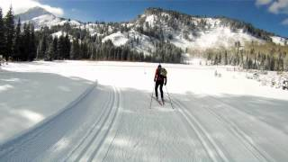 Solitude Nordic Ski Trails, Wasatch Mountains, Utah
