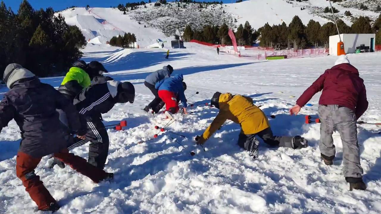 Battle Archery à la coupe du monde de Ski Freestyle