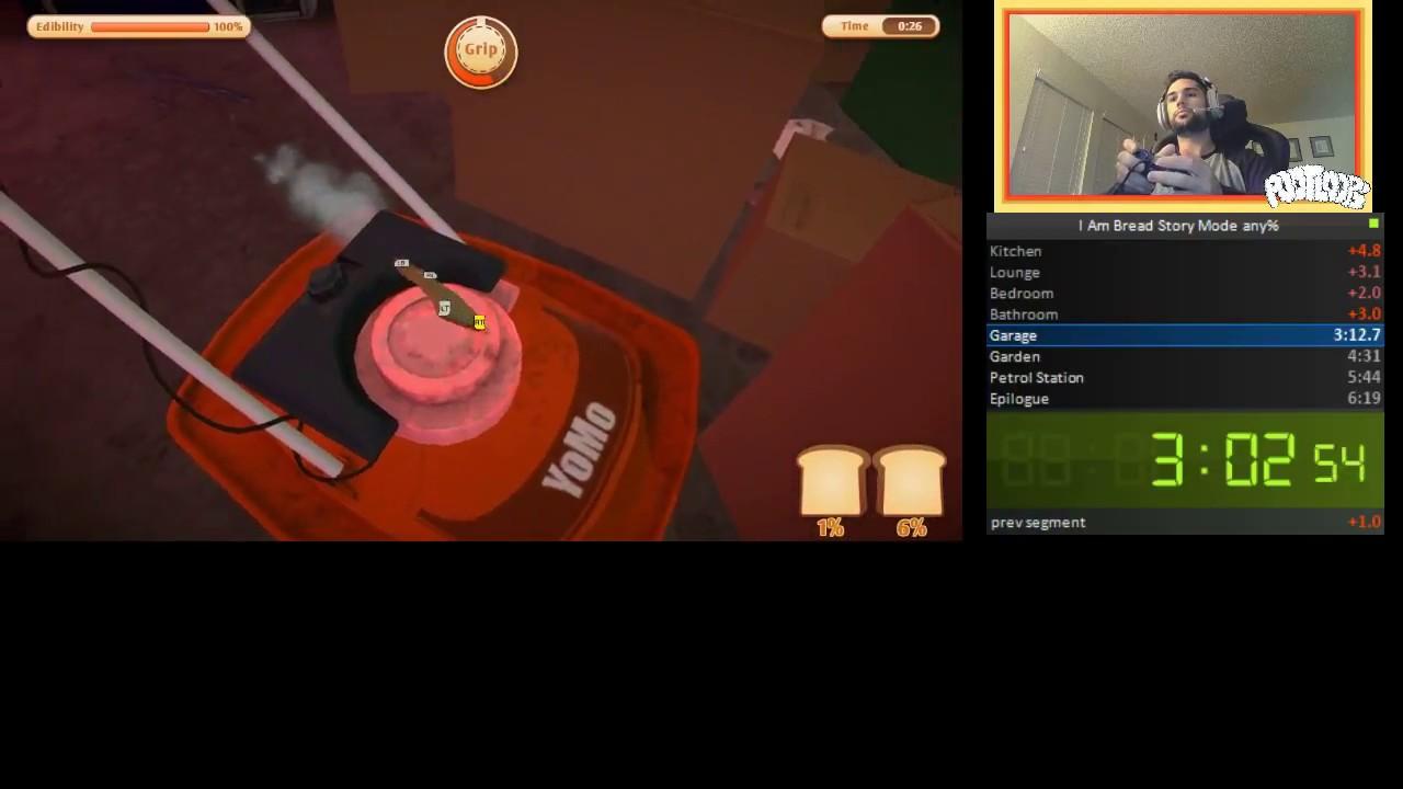 Игрок прошел симулятор хлеба за 6 минут и установил новый рекорд. После этого ему захотелось пиццы
