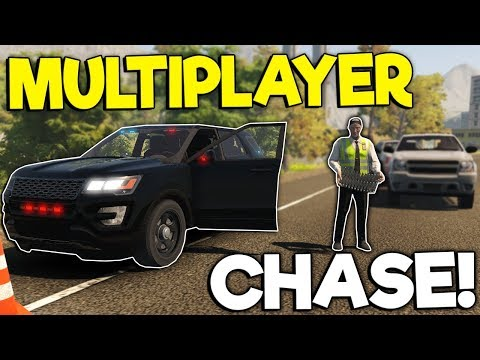 ENDING A POLICE CHASE WITH A SPIKE STRIP! - Flashing Lights Multiplayer Gameplay - Police Roleplay |