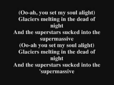 Muse- Supermassive Black Hole Lyrics