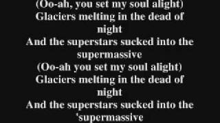 Muse- Supermassive Black Hole Lyrics