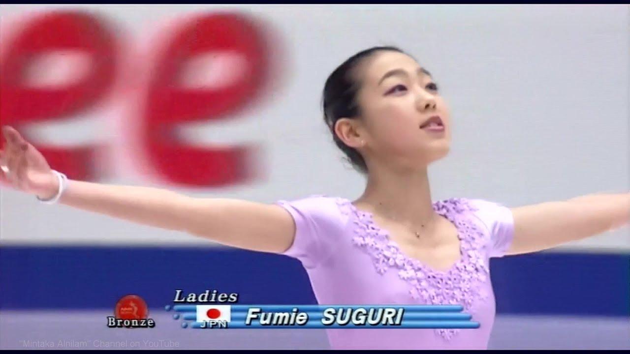 村主章枝 [HD] 村主章枝 Fumie Suguri - 1998 NHK Trophy - Exhibition