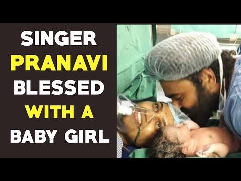 Singer Pranavi and Raghu Master New Born baby girl | Gup Chup Masthi