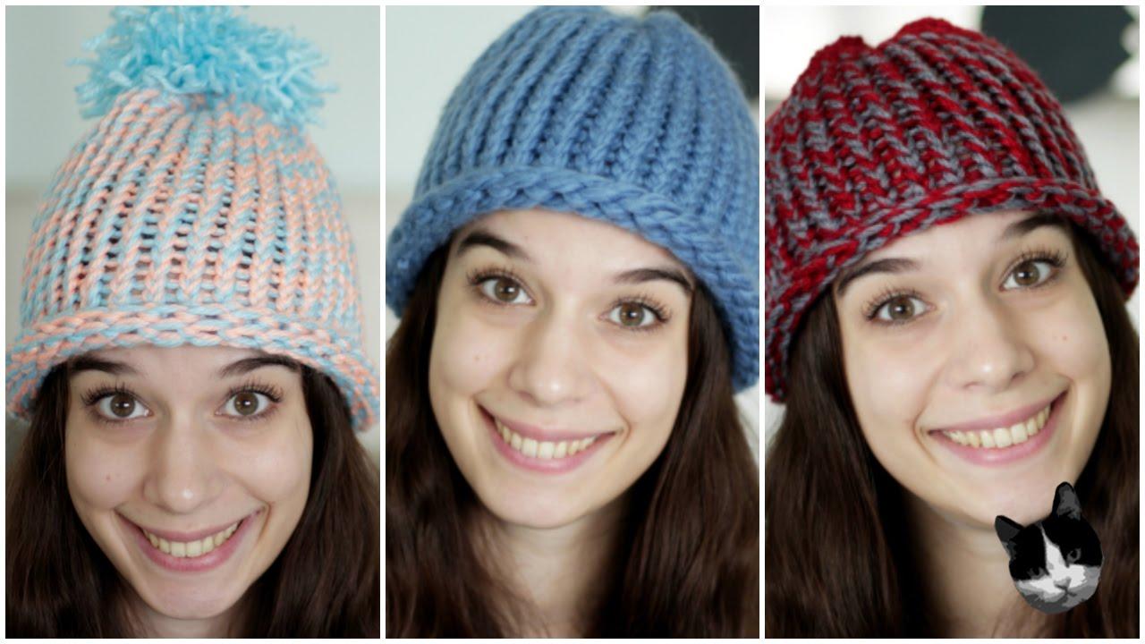 nuovi arrivi eccezionale gamma di stili e colori 2020 Cappellini di lana per adulti e bambini DIY | Natale con Zecca
