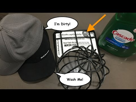 BallcapBuddy | How To Clean Dirty Ballcaps and Hats | Jenson Family TV