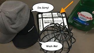 BallcapBuddy   How To Clean Dirty Ballcaps and Hats   Jenson Family TV