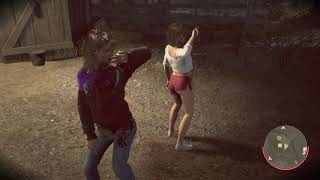 Friday the 13th: The Game DOUBLE DANCING AND AT THE SAME TIME