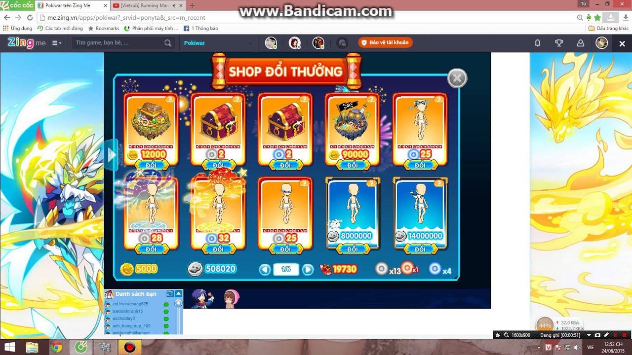 Bán ạc pokiwar Vip Có thể thương lượng card zing nhé by Tú Trần