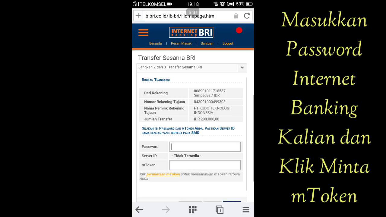 Cara Melakukan Pengisian Saldo , Upload Bukti Transfer dan Cek Saldo KUDO  di Android   KUDO #2