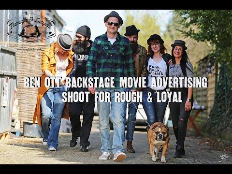 Ben Ott Backstage for Rough & Loyal 2016
