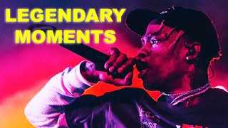 10 Legendary Travis Scott Moments