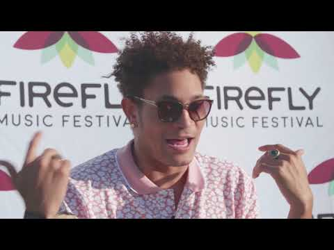 {non-music video} Bryce Vine Backstage at Firefly Festival