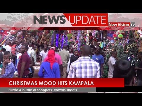 Christmas mood hits Kampala