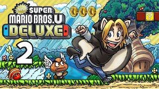 Let's Play New Super Mario Bros. U Deluxe [German][#2] - Yoshis in groß und klein!