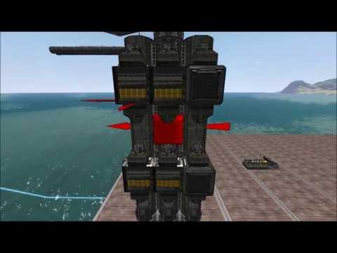 OXW Battleship | From The Depths | Build Episode 3 Part 1 | folkengamer