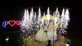 Свадебное фейерверк шоу