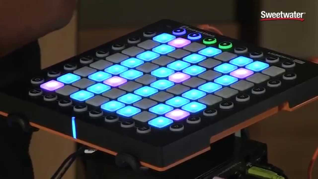 novation launchpad pro demo by sweetwater sound youtube. Black Bedroom Furniture Sets. Home Design Ideas