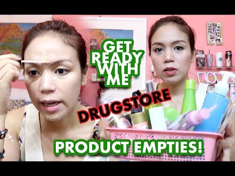 GET READY WITH ME (LOCAL MAKEUP) + PRODUCT EMPTIES! - candyloveart