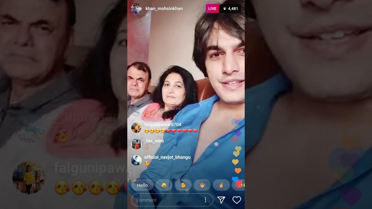 Mohsin khan Eid live chat (26 may 2020)