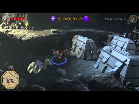 LEGO: The Hobbit - Unlocking the Blacksmith in Bree