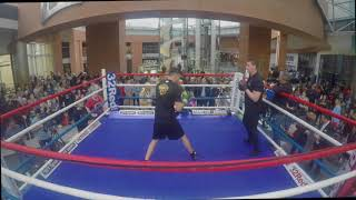 'SELF-PROCLAIMED LEGEND' TYRONE McKENNA HAMMERS THE PADS AHEAD OF CLASH WITH ANTHONY UPTON