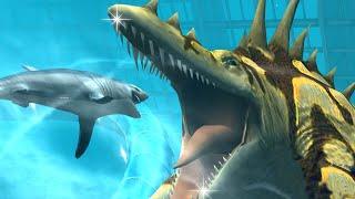 new vip sea monster tylosaurus   omega 09 world boss jurassic world the game