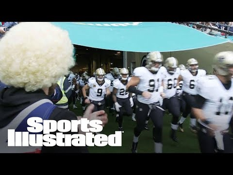 24 Hours With UK NFL Fan: Cheering Saints Vs. Dolphins From Across The Pond | Sports Illustrated