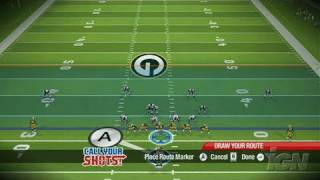 Madden NFL 09 All-Play Nintendo Wii Gameplay - 5 vs. 5
