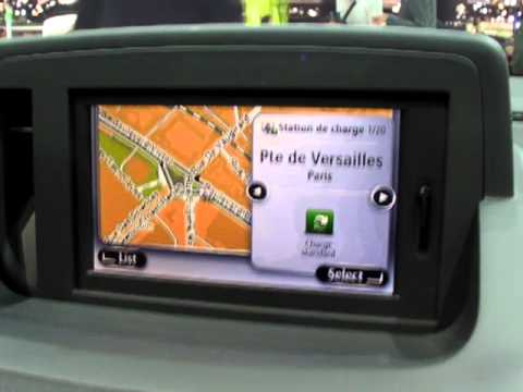 tomtom carminat live pour renault fluence ze youtube. Black Bedroom Furniture Sets. Home Design Ideas