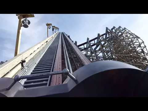 Steel Vengeance Front Seat POV 2018 FULL HD Cedar Point