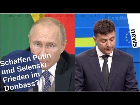 Schaffen Putin und Selenski Donbass-Frieden?